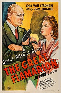 <i>The Great Flamarion</i> 1945 film by Anthony Mann