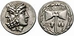 Greek Silver Tetradrachm of Tenedos (Mysia, Islands off Troas), a Wonderful Janiform Head of Zeus and Hera.jpg