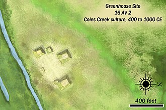 Coles Creek culture - Greenhouse Site