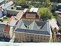 Greifswald Rechts--und-Staatswissenschaftliche-Fakultät vom-Turm-des-Doms-St.-Nikolai-aus-gesehen April-2009 SL272465.JPG