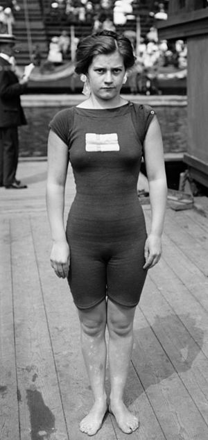 Greta Johansson - Johansson at the 1912 Olympics