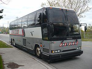 Grey Goose Bus Lines - Image: Grey Goose bus 240