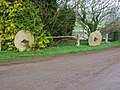 Grindstones at Shirley Mill. - geograph.org.uk - 297712.jpg