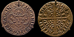 Groat (coin) - Image: Groat of Edward I 4 pences