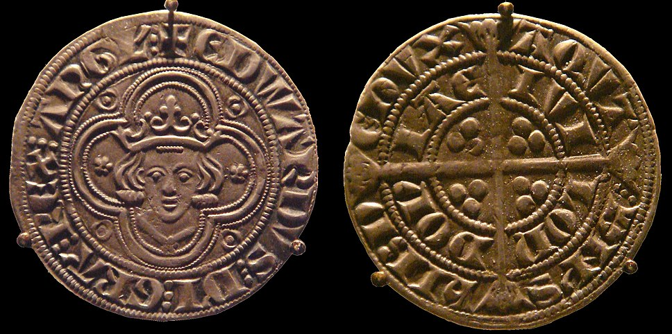 Groat of Edward I 4 pences
