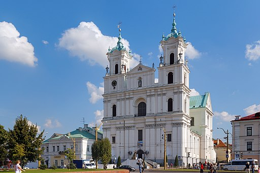Grodno Saint Francis Xavier Cathedral IMG 1329 2175