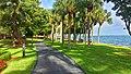 Grove Isle garden path along Biscayne Bay.jpg
