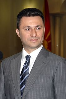 Macedonian politician