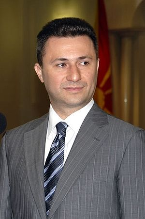 Prime Minister of Republic of Macedonia Nikola...
