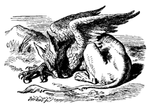 Gryphon (Alice's Adventures in Wonderland) - Image: Gryphon