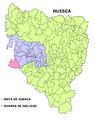 Gurrea de Gallego mapa.png
