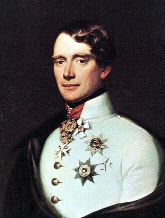 Gustav, Prince of Vasa - Image: Gustav of Sweden (1799) c 1830