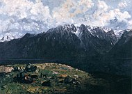 Gustave Courbet - Panoramic View of the Alps, Les Dents du Midi - WGA05521.jpg