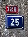 Háje, Mirošovská 25, domovní čísla.jpg