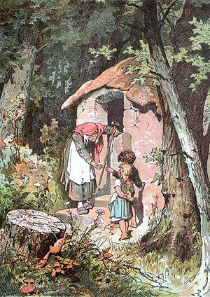 Hänsel und Gretel, Darstellung von Alexander Zick
