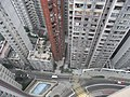 HK Mid-levels 21 Robinson Road Good View Court roof view 摩羅廟街 Mosque Street March-2011.JPG