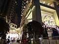 HK Wan Chai night Lee Tung Avenue Johnston Road entrance Dec-2015 DSC 003.JPG