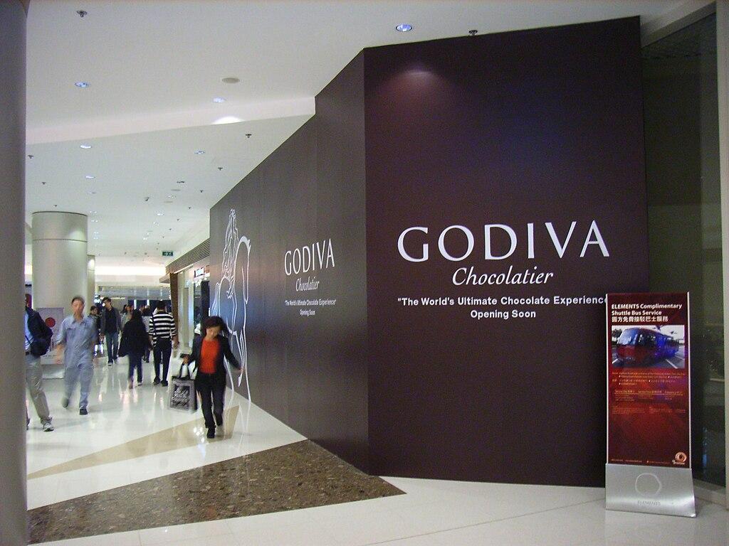 File:HK West Kln Elements mall shop Godiva chocolatier.JPG ...
