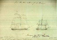 HMS Amazon (1799) pursuing possible Belle Poule.jpg