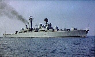 HMS Bristol (D23) - Image: HMS Bristol D23