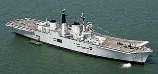 HMS <i>Invincible</i> (R05) Invincible-class aircraft carrier