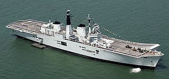 HMS Invincible (R05) - Image: HMS Invincible During T200 Celebrations MOD 45144681 (cropped)