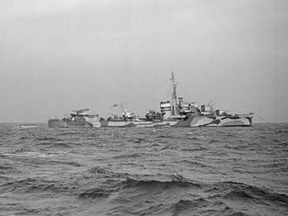 HMS <i>Loyal</i> (G15) British warship