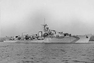HMS Virago (R75) - Image: HMS Virago 1943 IWM FL 9578