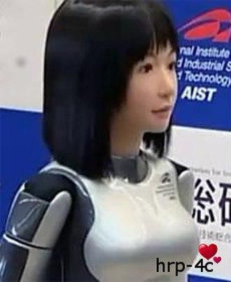 HRP-4C - HRP-4C AIST's Humanoid girl robot