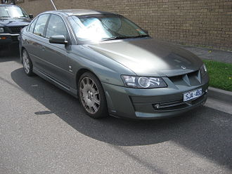 Holden Special Vehicles - 2002 HSV Senator