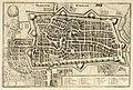 HUA-214019-Plattegrond van de stad Utrecht met directe omgeving met stratenplan wegen en watergangen en gestileerde weergave van de bebouwing en het grondgebruik.jpg