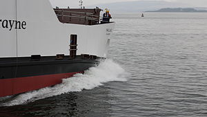 Caledonian Maritime Assets - Launch of Hallaig Hybrid Ferry in December 2012