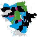 Halle (Saale) Kommunalwahl 2019 stärkste Partei nach Stadtteil.png