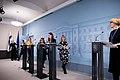 Hallituksen tiedotustilaisuus koronavirustilanteesta ja varautumisesta Suomessa 27.2.2020 (49591732326).jpg