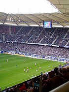 Hamburg AOL-Arena HSV-SGE
