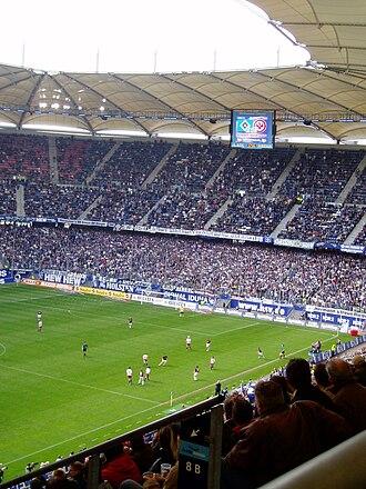 Volksparkstadion - HSV v Eintracht Frankfurt, May 2004