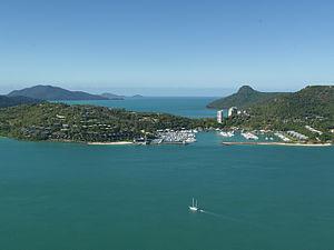 Hamilton Island (Queensland) - Hamilton Island marina, 2012