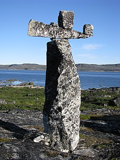 Hammer of Thor (monument) man-made stone monument in Canada