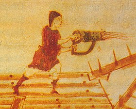 Hand-siphon for Greek fire, medieval illumination (detail).jpg