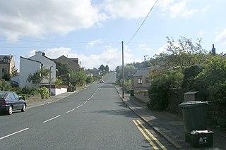 Long Lee Suburban village in West Yorkshire, England, United Kingdom