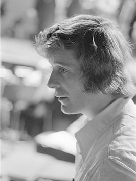 Harry van Hoof in 1974