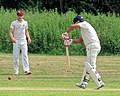Hatfield Heath CC v. Takeley CC on Hatfield Heath village green, Essex, England 11.jpg