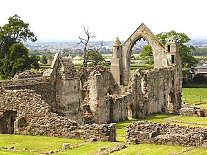 Alice of Saluzzo, Countess of Arundel - The ruins of Haughmond Abbey, burial place of Alice of Saluzzo