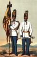 Hauptmann und Fahnenträger von Hoch- und Deutschmeister 1850–1860.png