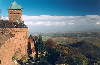 Battle of Brumath - Image: Haut Koenigsbourg 08