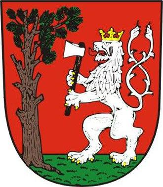 Havlíčkova Borová - Image: Havlickova Borova znak