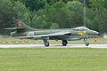 Hawker Hunter F58 34033 G red (SE-DXM) (8385033750).jpg