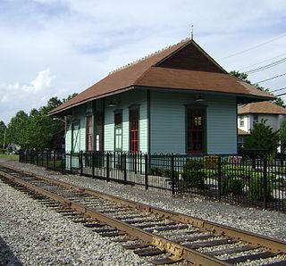 Hawthorne station (New York, Susquehanna and Western Railroad) rail station in Hawthorne, New Jersey