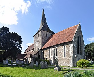 Grade II* listed buildings in Havant (borough) - Image: Hayling Island St Mary's Church 02