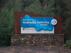 Healesville Sanctuary sign.jpg